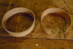 Des portions de tuyaux pour diminuer le diamètre d'un tuyau