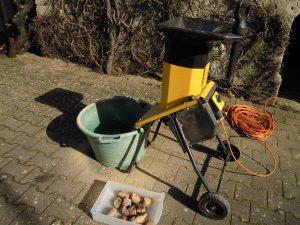 broyeur à végétaux pour broyer le pain