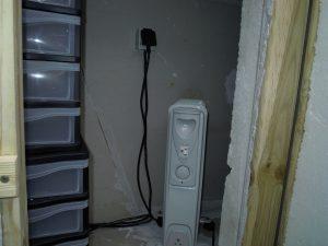 Radiateur à bain d'huile pour une température favorable à l'élevage des vers de farine