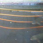 serpentin de cuivre pour refroidir l'eau des bassins à truites