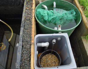 Filtres en série pour clarifier l'eau